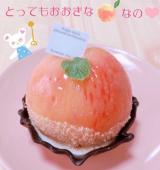 「「桃のまるごとケーキ」₍ᐢ。•؎ •。ᐢ₎」の画像(2枚目)