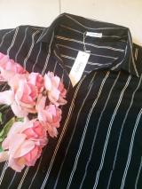 デコルテラインをキレイに♡前後差ジョーゼットスキッパーシャツの画像(6枚目)