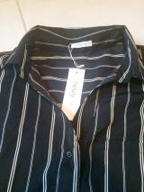 デコルテラインをキレイに♡前後差ジョーゼットスキッパーシャツの画像(2枚目)