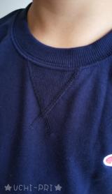 【モニター】チャンピオン Champion キッズ ワンポイント刺繍入スウェットシャツの画像(4枚目)