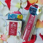 ワフードメイドシリーズ 酒粕化粧水・クリームモニターさせて頂きました😆❤️😵*ほんのり日本酒の香りがするー!!✨お酒なのに酒臭くなくてすごい😍😍ふんわり香るのでとっても良い香り❤️…のInstagram画像