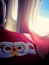 Dubai☆機内の過ごし方☆Cathay Pacific Airwaysの画像(5枚目)