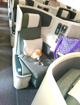 Dubai☆機内の過ごし方☆Cathay Pacific Airwaysの画像(1枚目)