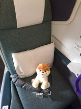 Dubai☆機内の過ごし方☆Cathay Pacific Airwaysの画像(4枚目)