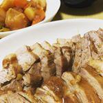 直火焼カレールーでお世話になっているコスモの、煮豚のタレ🤗野菜も一緒に煮た🥕#コスモ食品 #煮豚のたれ #簡単調理 #煮豚 #monipla #cosmo_fanのInstagram画像