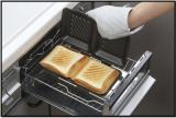 【モニター募集】一度に食パン4枚プレスできる!グリルdeクック ホットサンドパンの画像(3枚目)