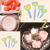 和風パスタ♡鶏天丼♡...色んなメニューに使える!海の精さんの「紅玉ねりシソ」!!の画像(4枚目)