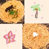 和風パスタ♡鶏天丼♡...色んなメニューに使える!海の精さんの「紅玉ねりシソ」!!の画像(2枚目)