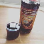 天然ポリフェノール!アロニア果汁!視界がクリアになってきてる気がする…生サプリ♡ #aroniada #monipla #nakagaki_fanのInstagram画像