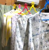 母、大感激!な贈り物。洗濯物が室内でたくさん干せる【モニター】室内物干しの画像(10枚目)