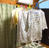 母、大感激!な贈り物。洗濯物が室内でたくさん干せる【モニター】室内物干しの画像(11枚目)