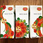 #HACO SALAD#ハコサラダHACO SALADは1本(200ml)に1日分の野菜(350g分)を使用した野菜飲料です。隠し味にグレープフルーツ果皮等をブレンドしているので、すっきりさわ…のInstagram画像