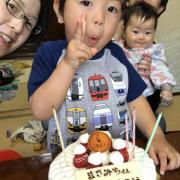 「4歳の誕生日と、5歳で七五三!」成長期応援飲料【アスミール】プレゼント!お子様の1年間の成長記録写真大募集!!の投稿画像
