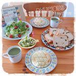 .『オーガニックフルーツ青汁』で、美味しくヘルシーな朝ごはん!😋👍Con のInstagram画像