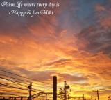 今朝の空の画像(1枚目)