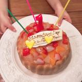 ファーストバースデーケーキ♡の画像(2枚目)