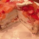 ファーストバースデーケーキ♡の画像(5枚目)