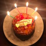 ファーストバースデーケーキ♡の画像(3枚目)