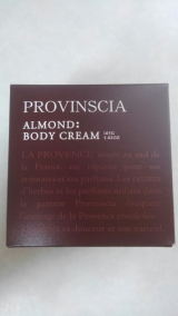 プロバンシア ボディクリーム(アーモンドの香り)①の画像(1枚目)
