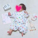 フェリシモのマンスリーフォトカードで写真を撮ってみました😄.フェリシモのマンスリーフォトカードは、フェリシモの商品を1つ以上注文したとき、無料で付けることのできるカードです💡赤ちゃんの月齢カー…のInstagram画像