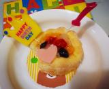 1歳のお誕生日♡ファーストバースデーケーキ(*^^*)の画像(9枚目)