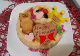 1歳のお誕生日♡ファーストバースデーケーキ(*^^*)の画像(8枚目)