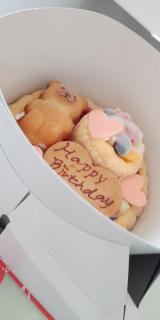 1歳のお誕生日♡ファーストバースデーケーキ(*^^*)の画像(5枚目)