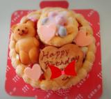 1歳のお誕生日♡ファーストバースデーケーキ(*^^*)の画像(6枚目)