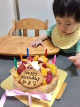 はじめての誕生日の画像(3枚目)