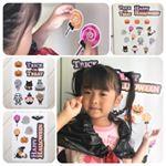 マグネットパーク様『 ハロウィンデコレーションマグネット 』ハロウィンデザインの磁石です!!黒いゴミ袋でマントを作って、娘にハロウィン気分で冷蔵庫に貼ってもらいました👻3歳の娘は冷蔵庫…のInstagram画像