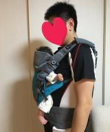 抱っこひもはドクターレーベルのベビーキャリアを使ってます☆の画像(10枚目)