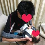 抱っこひもはドクターレーベルのベビーキャリアを使ってます☆の画像(8枚目)