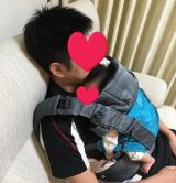 抱っこひもはドクターレーベルのベビーキャリアを使ってます☆の画像(13枚目)