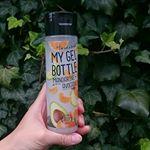 美味しそうなボトルのこちらマイジェルボトル(ボディ用保湿液)をお試ししました🌿**🍊乾燥しがちなお肌をしっかり保湿🍊はちみつアルガンオイルシアバターアボカド油.…のInstagram画像