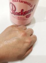 ジューシーな桃の香りが最高♡ピーチアープレミアムボディミルクその3の画像(4枚目)