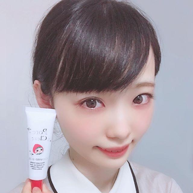 口コミ投稿:毛穴ケアに@meishoku_corporation さんのポアクリアを使ってみました。洗顔前に小鼻…