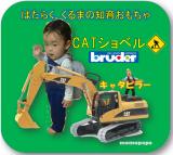 「はたらくくるまの知育玩具♪ブルーダー CATショベルのモニター募集!」の画像(1枚目)