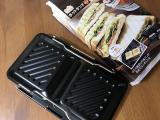 「一度に食パン4枚プレスできる!グリルdeクック ホットサンドパン」の画像(2枚目)
