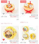 お誕生日に♡赤ちゃんも食べられるケーキの画像(2枚目)