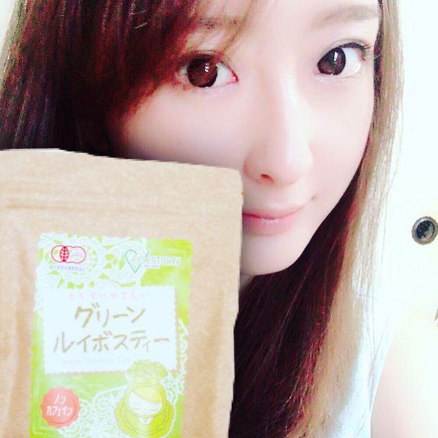 口コミ投稿:グリーンルイボスティー!!紅茶よりもくせがなくて飲みやすい( ˶˙ᵕ˙˶ )ノンカフェイ…