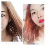 口コミ記事「簡単セルフケア5分で1week♡ベージュヘア→レッドへ」の画像