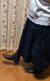 履くのも脱ぐのも楽ちん☆サイドゴアショートブーツの画像(5枚目)