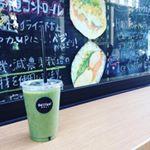 日本橋「delifas!DELI」ショップさんで『グリーンスムージーデトックス』💕カラダの中からキレイに♪果物、野菜、スーパーフードを使用したスムージ。美味しい上に、抗酸化作用の高いポ…のInstagram画像