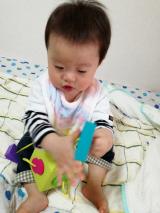 0歳から遊べる知育玩具♡Fat Brain オームビーキューブの画像(7枚目)