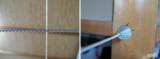 """☆ Hills Clothesline 日本輸入発売元 エムワールドさん スーパー物干し・コードマチックV3"""" 壁取り付け式物干し ③ 室内干しの強力アイテム!の画像(5枚目)"""