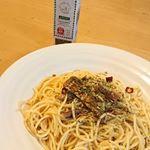 ITはなびらたけふりかけ イタリアンとサバ燻製油漬を使用してペペロンチーノを作りました。#itはなびらたけ #itはなびらたけふりかけ #レシピ #monipla #ithanabirata…のInstagram画像