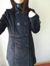夢展望様の「スタンドカラーフェイクウールコート」の画像(2枚目)