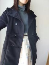 夢展望様の「スタンドカラーフェイクウールコート」の画像(10枚目)