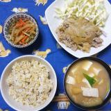 我が家の夜ご飯と 華恋→イルカさんへ( ・∇・)の画像(4枚目)