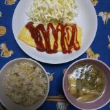 我が家の夜ご飯と 華恋→イルカさんへ( ・∇・)の画像(5枚目)